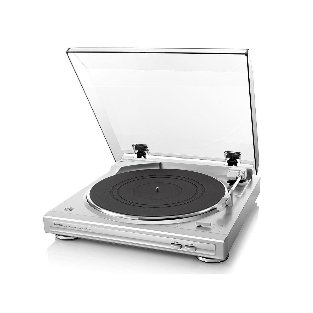 Gramofon analogowy DP-29F SREBRNY