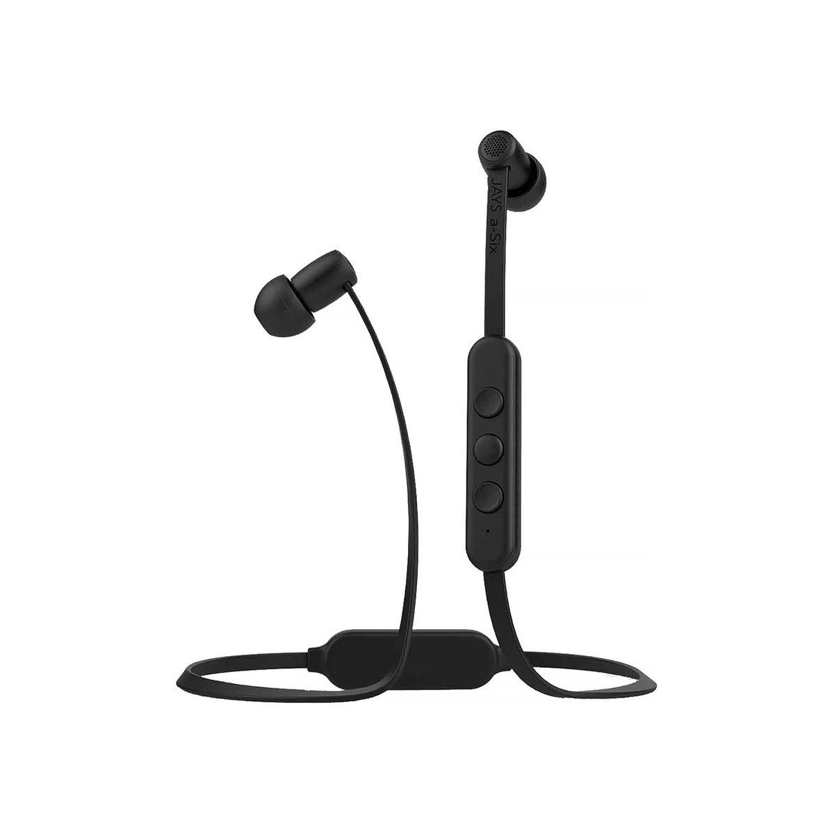 Słuchawki douszne a Six Wireless