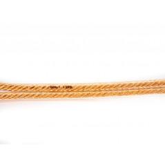 Przewód glośnikowy 2x4mm (3m) - wtyki bananowe SPK CABLE 4.0MM (2x3m)