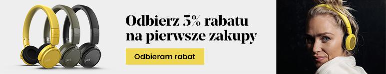 Rabat 5% na pierwsze zakupy